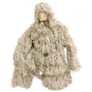 SHENKEL ステルス ギリースーツ メッシュ セパレート型 デザート迷彩 マルチカムアライド ghillie suits 狙撃手・ハンター