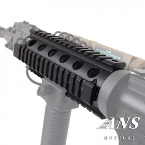 プロモデル クワッドレイルシステム  RIS ハンドガード AR15/M4 6.5 inch