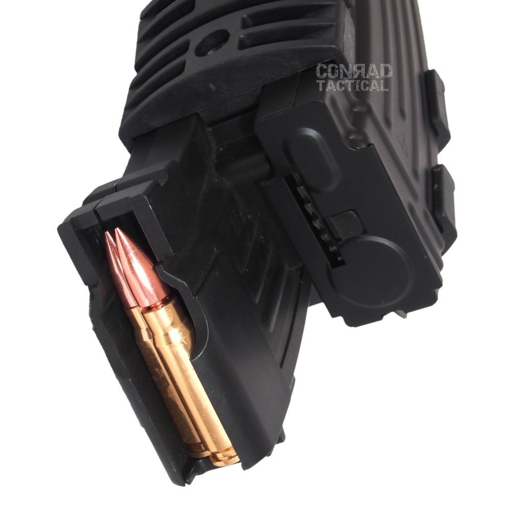 AK用 エレクトリック ダブルマガジン 電動 巻上げ式 ダミーカート付