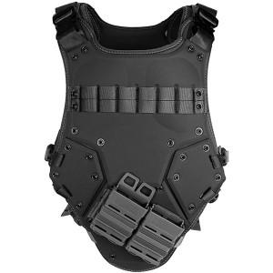 SWAT 装備  トランスフォーマー TF3 タイプ タクティカル ベスト アーマー NEST 特殊部隊 (BK) プレートキャリア 防弾チョッキタイプ ボディーアーマー サバイバルゲーム サバゲー MOLLE システム対応